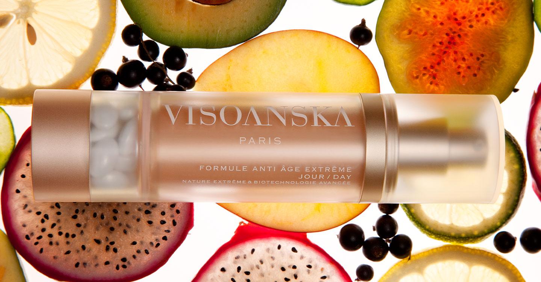 Visoanska vous propose 4 formules anti-âge au quotidien, crème de soin + complément alimentaire.